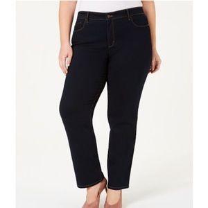 Charter club Lexington straight leg dark wash jean